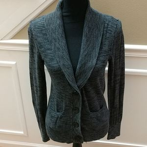 Mossimo cardigan in grays, medium
